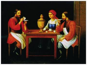 俄罗斯红茶文化传播
