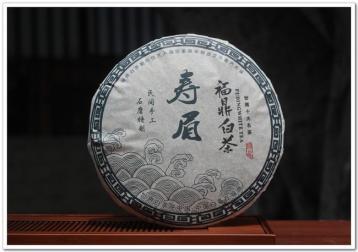 福鼎白茶老白茶饼图片展示|老寿眉茶汤图片