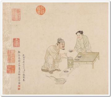 唐代蒸青饼茶的煮饮方法|中国绿茶文化