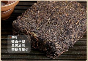茯砖茶|湖南安化黑茶品种