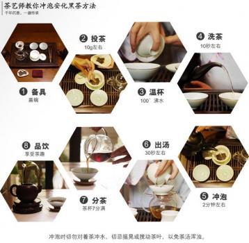 湖南黑茶是煮着喝好呢,还是泡着喝好呢?