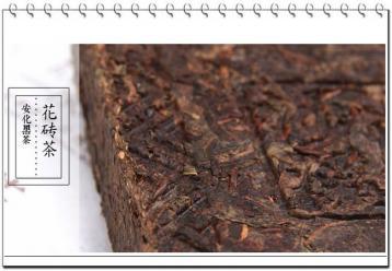花砖茶图片展示|白沙溪黑茶图片