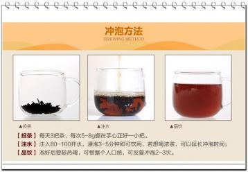黑乌龙茶冲泡图片|黑乌龙茶的泡法