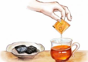 普洱茶膏的冲调方法|普洱茶膏喝法