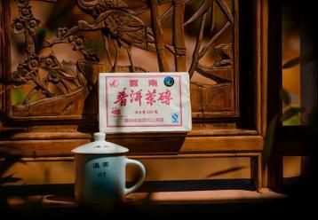 """经典的7581普洱茶砖""""重生""""的普洱传奇"""