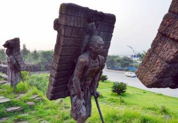 雅安茶马古道雕塑图片|茶马古道图片