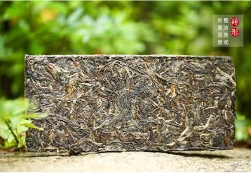 古树普洱茶砖图片展示|彩程普洱茶