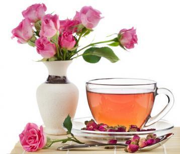 各种花茶配方大全---养颜美容、美白润肤