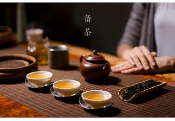 武夷岩茶茶艺表演解说词|乌龙茶茶艺表演