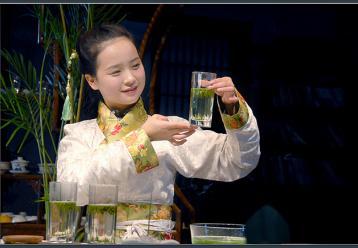 茉莉花茶茶艺表演解说词|茶艺表演