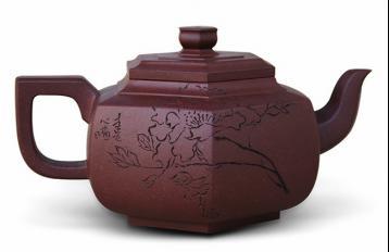 孔良法《花开富贵》紫砂壶获米兰世博会金奖