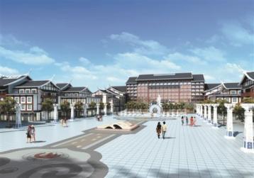 德化中国茶具城开建 预计2017年投入使用