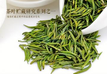 绿茶贮藏过程中的品质成分变化|绿茶生化