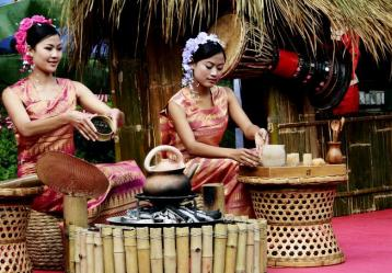 普洱竹筒茶傣族的风俗习惯