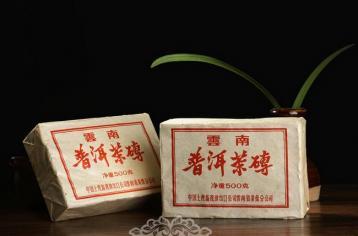 中茶的文革砖特点|普洱茶砖