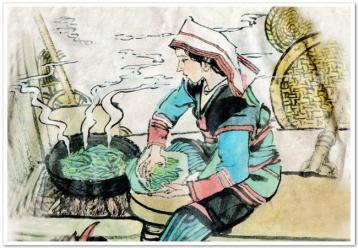 云南七子饼茶的制作工艺|七子饼茶工艺