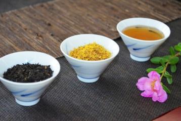 自制桂花祁红饮料|祁门红茶品饮