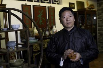 潮州工夫茶非遗传承人叶汉钟|茶人叶汉钟
