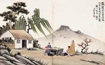 杜甫茶诗:浣花溪畔的茶香诗魂