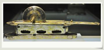 唐代茶具|鎏金银茶具