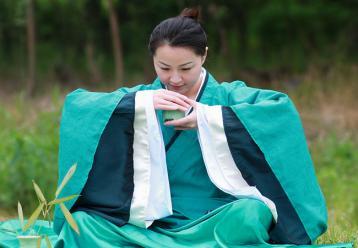 喝茶礼仪图|茶道礼仪