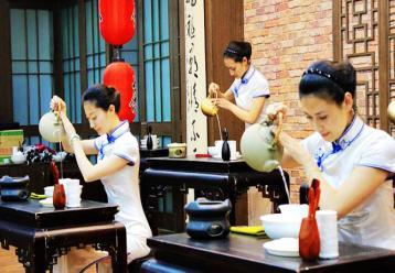 茶艺师泡茶图片|冲泡图片