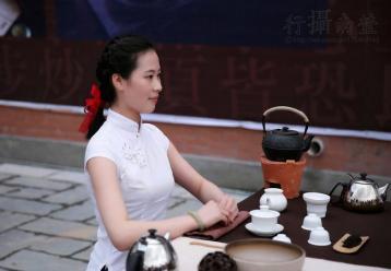 茶道礼仪图片:坐姿图片