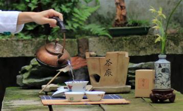 沏茶图片素材 泡茶图片