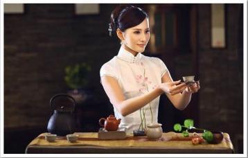 敬茶图\请茶礼仪|茶道礼仪图片
