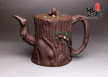 紫砂茶壶为什么称为紫色?