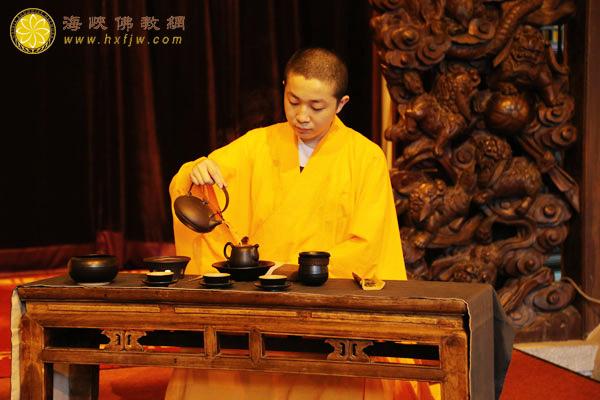 禅茶茶道表演