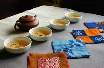 择一处创意茶席入座|茶馆茶席设计