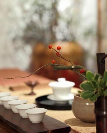 茶席的视觉传达设计|范增平