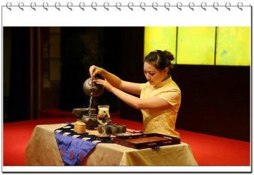 茶艺师图片|茶道茶艺图片