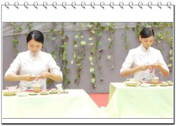 茶艺表演节目:听茶|茶艺师技能大赛