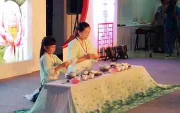 《连心》母子茶艺表演|2015全国茶艺表演大赛