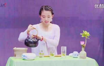 《随心》茶艺表演|绿茶茶艺表演视频