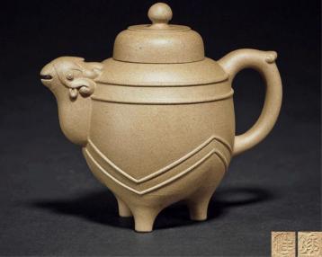 汪寅仙天鸡壶鉴赏图|紫砂壶收藏图片