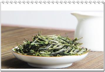 黄茶霍山黄芽茶叶展示|黄茶茶汤图