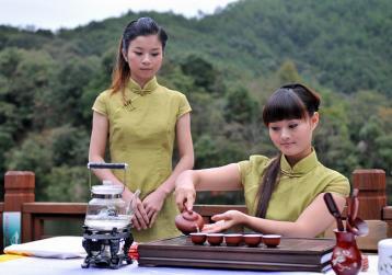 漳平水仙茶茶艺表演步骤