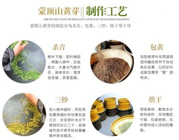 蒙顶黄芽制作过程