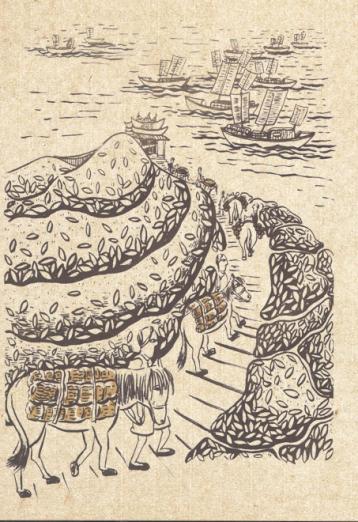 陕西茯砖茶的前世今生|陕西茯砖茶历史