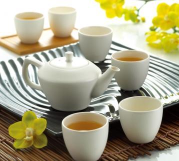 白瓷茶具介绍