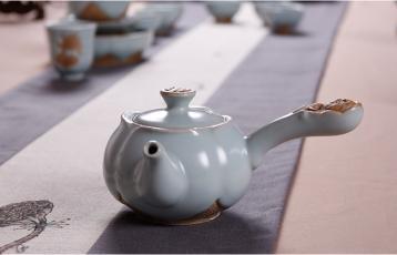中国的茶文化中的功夫茶具