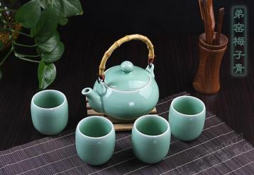 陶瓷茶具适合泡什么茶