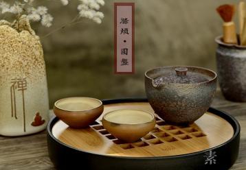 竹制茶盘图片|竹茶盘图片