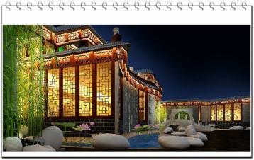 中式茶楼茶馆装修设计宗旨