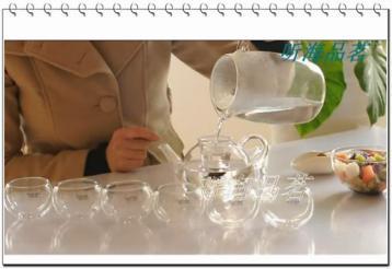 罗汉茶具|玻璃茶具泡茶视频