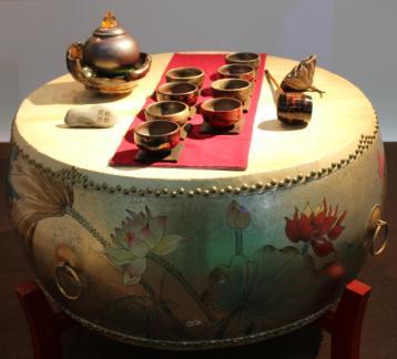 茶席设计欣赏:岩骨花香铁罗汉|茶席设计大赛