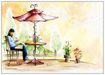 品茶设计图(组图)-卡通漫画